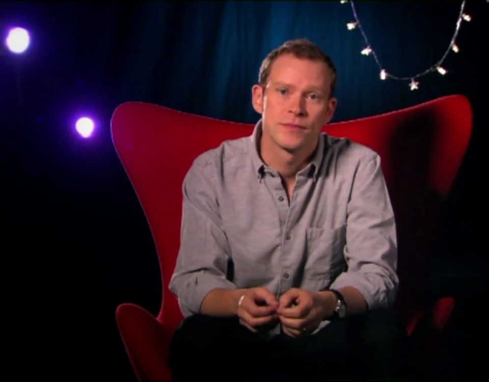 Robert Webb in The Toys that Made Christmas 1